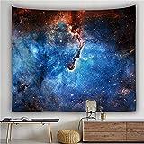 YYRAIN Impresión 3D Poliéster Ciencia Ficción Cielo Estrellado Tapiz Sala De Estar Dormitorio Tapiz Pasillo Fondo Tela Decorativa 59x51 Inch {150x130cm}