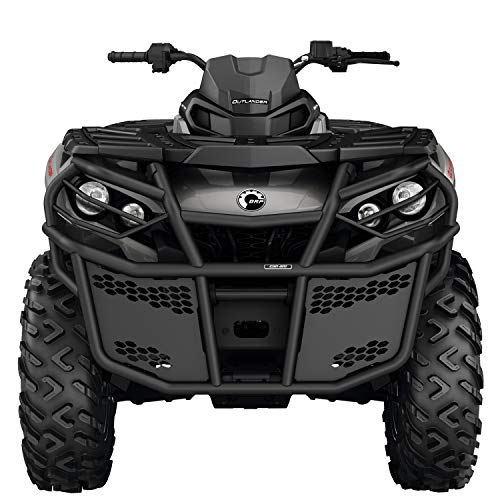CAN-AM OUTLANDER G2 AND G2L BLACK RANCHER FRONT BUMPER KIT # 715003461