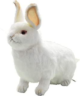 Hansa Snow Rabbit Plush