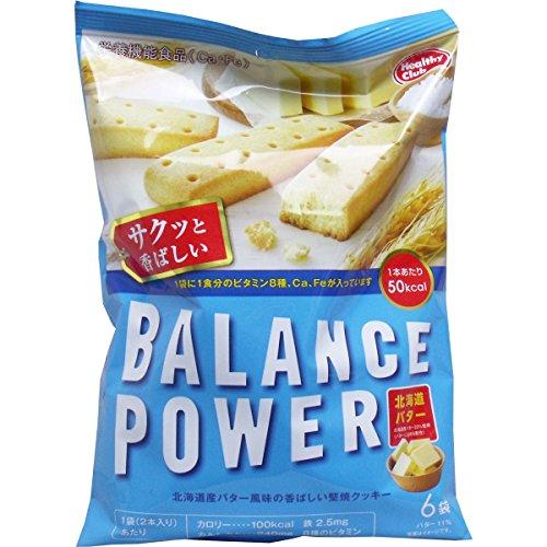 バランスパワー 北海道バター味 6袋(12本)