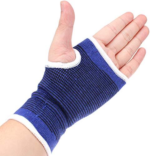 MYHH 2 PCS hohe elastische Sportschutz Palm Sportartikel (blau).