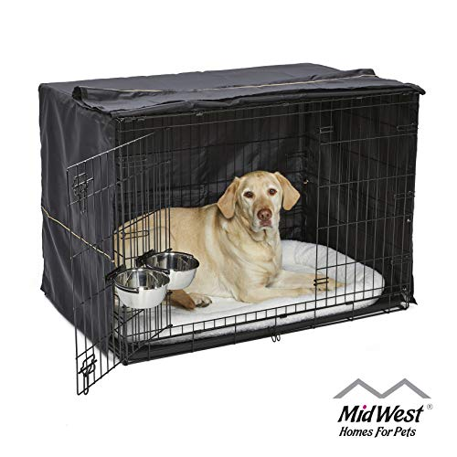 iCrate Dog Crate Starter Kit, 42-Inch Dog Crate Kit Ideal for LARGE DOG BREEDS...