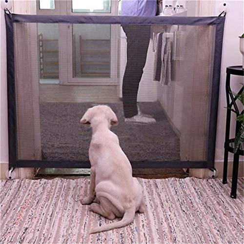 Magic Gate for Dogs - Portone retraibile retraibile portatile retraibile per interni - per uso domestico da casa - Dog Safe Guard installa ovunque