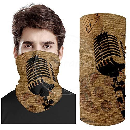 Microfoon Sjaal Nek Gaiter Bandana Microvezel Zon Beschermende Nek Tube Ring Sjaals Mannen Hoofddeksels Polsband voor Vissen Motorfiets Fietsen