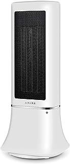 Calentador Pequeño radiador de Cabeza movible portátil, Ventilador de Temperatura Ajustable de 3 Posiciones para el hogar, 2000 W de Alta Potencia