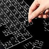WATINC - Puzzle transparente para adultos y niños (10,6 x 8,8', 120 unidades), diseño de jigsaw