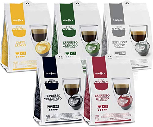 Capsule Degustazione Caffe' Gimoka Compatibili Dolce Gusto (80)
