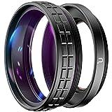 Ulanzi WL-1 2 en 1 lente gran angular de 18 mm y macro 10x para cámara Sony ZV1