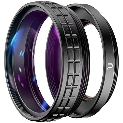 Ulanzi WL-1 - Obiettivo grandangolare 2 in 1, 18 mm e 10x macro per fotocamera Sony ZV1