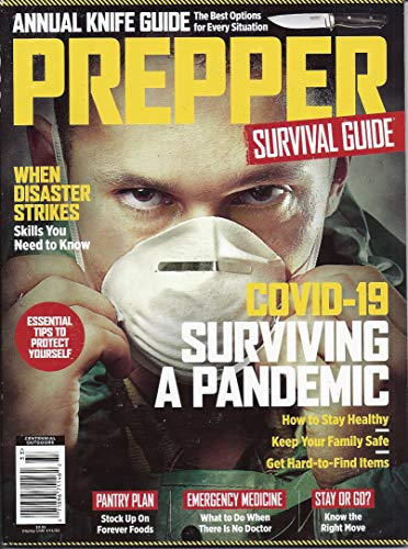 Prepper Survival Guide Magazine Issue #4 2019 Learn How to Live Off Grid Knives