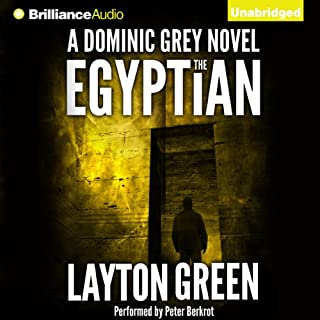 The Egyptian cover art