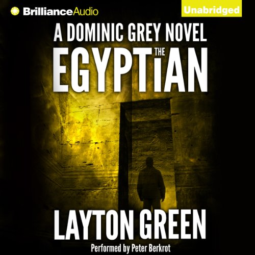 The Egyptian audiobook cover art