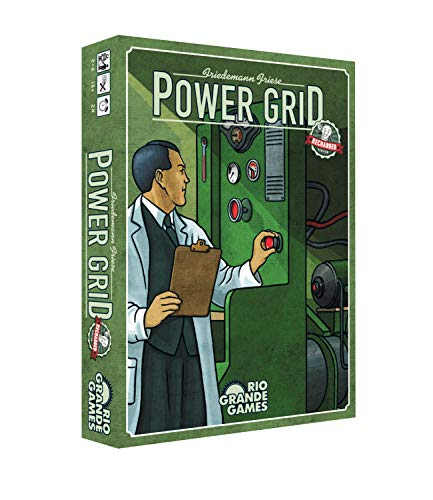 Rio Grande Games RGG559 Power Grid: Recargable, varios colores , color/modelo surtido