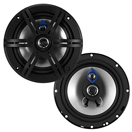Planet Audio PL63 6.5 Inch Car Speakers - 300 Watts of Power Per Pair, 175 Watts Each, Full Range, 3 Way, Sold in Pairs