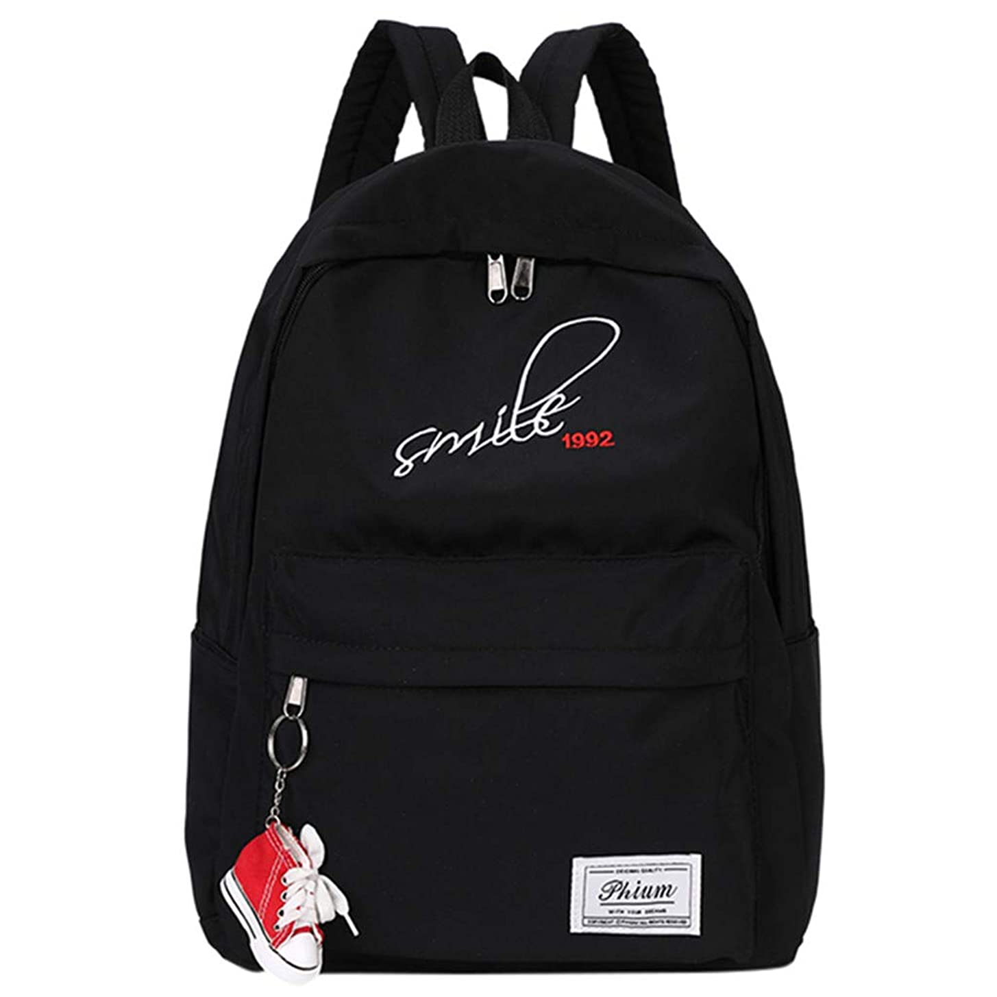 Tronet Women Fashion Backpack,New Men and Women Student Bag Korean Travel Backpack Wild Waterproof Backpack