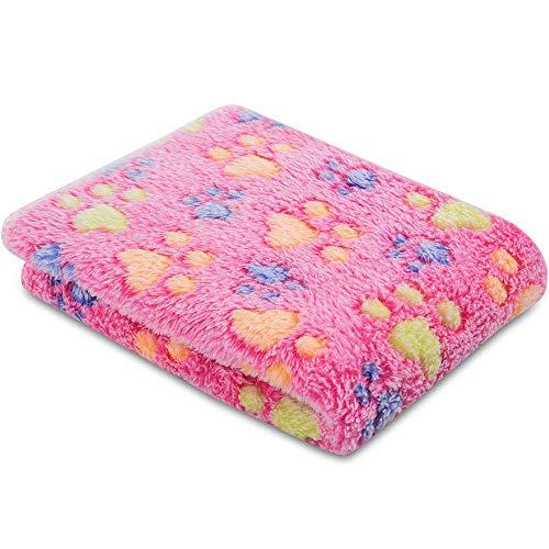 CHUER Decke für Haustier Hundedecke Katzendecke Fleece-Decke/Tier Schlafdeck Super Softe Warme und Weiche(60 * 40cm)