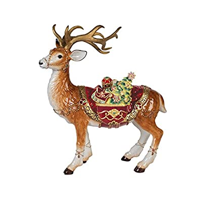 Fitz and Floyd Renaissance Holiday Collectible Figurine, Muli Colored