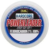 DUEL(デュエル) HARDCORE(ハードコア) フロロライン 25Lbs. HARDCORE POWERLEADER FC 50m 25LbS. ナチュラルクリアー H3341