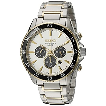 Fashion Shopping Seiko Men's 'Chronograph' Quartz Stainless Steel Dress Watch (Model: SSC446)