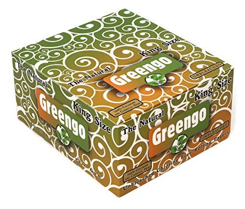 Papel de liar regular Greengo King Size x 50 folletos x 33 = 1650 documentos