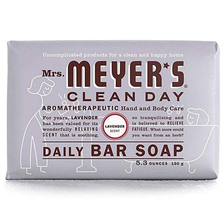 アパートオーバードロー経度Mrs. Meyers 夫人マイヤーズ石鹸ラベンダー5.3オンス(156Ml)(3パック)