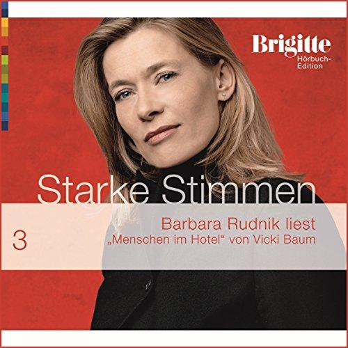 Menschen Im Hotel (Brigitte Hörbuch-Edition 2006/3) Titelbild