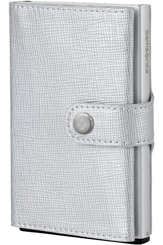 Portafoglio Samsonite | Pelle Premium ALU Fitl | Slide-UP Case | Protezione RFID e NFC