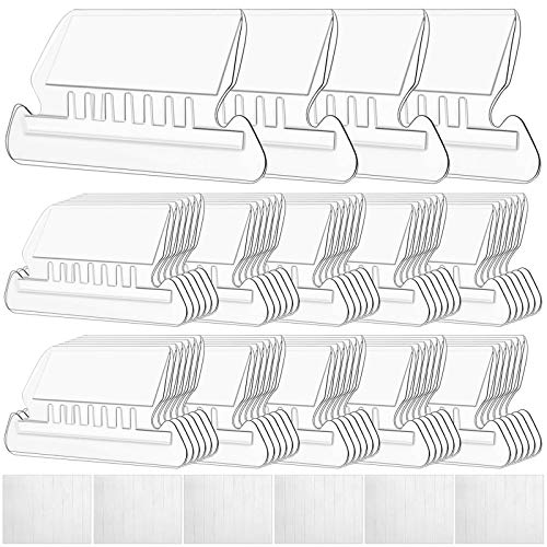 "File Folder Tabs, Selizo 100 Sets Hanging File Folder Labels 2"" Tabs and Inserts for Hanging Files"