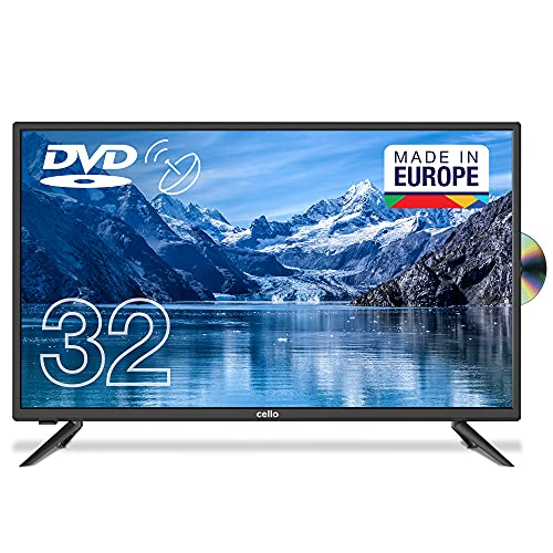 "Cello C3220FDE 32"" (80 cm Diagonale) HD Ready LED TV mit intergiertem DVD Player"