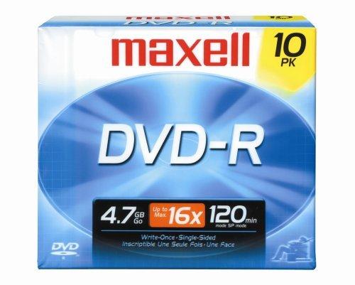 Maxell DVD-R - DVD-Rohlinge (DVD-R, slimcase)