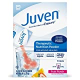 Juven Therapeutic Nutrition Drink Mix Powder to Support Wound Healing, Fruit Punch, 48 Count