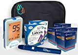 Raindrop USA - Clever Choice Voice HD Blood Glucose Monitor Kit (200 Test Strips, 200 Lancets)