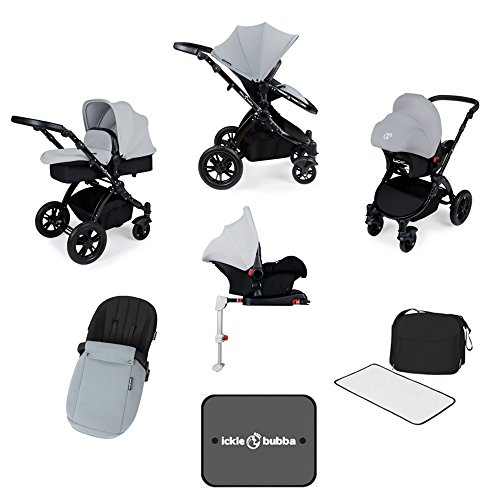 Ickle Bubba Stroller, Baby Travel System | Bundle incl Rear...