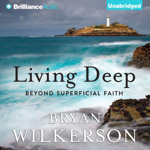 Living Deep audiobook cover art