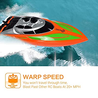 Contixo T Series RC Remote Control Racing Boat | High-Speed Pool Toy Ship by Contixo Inc.