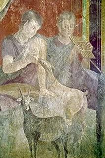 Posterazzi SAL3815395645 Roman Fresco Circa.60-50 BC Italy Pompeii Villa of The Mysteries Poster Print 18 x 24 Varies