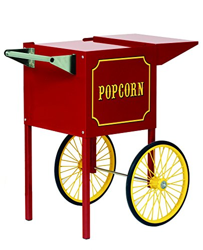 Fantastic Deal! Paragon Small Popcorn Cart for 4-Ounce Poppers (Red)