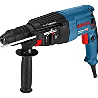 Bosch Professional GBH 2-26 F - Martillo perforador combinado (2,7 J, máx. hormigón 26 mm, portabrocas SDS plus + cilíndrico, en maletín)