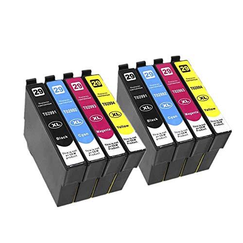 FXCH Cartuchos de la Impresora Cartucho Compatible con T2991 29XL para XP255 xp257 xp257 xp257 xp332 xp335 xp342 XP...