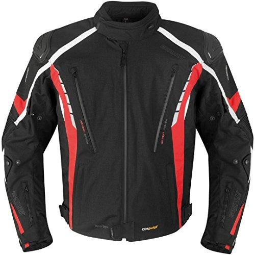 Germot Sportage Jacke XL Schwarz/Rot