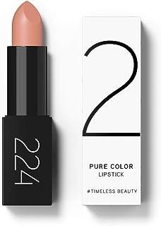224 Cosmetics Barra de labios Pure Color - natural vegano  no testada en animals - feel good fórmula  sin parabeno y si...