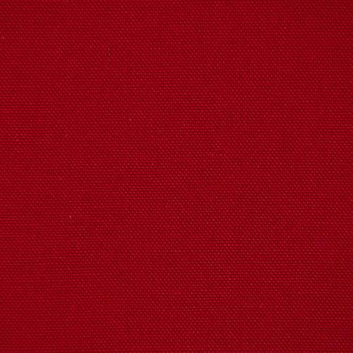 SCHÖNER LEBEN. Halbpanama Dekostoff Baumwollstoff sanforisiert Uni dunkelrot 1,40m Breite