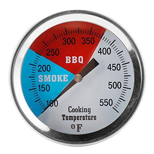 termometro de cocina digital Termómetro de horno termómetro de cocción para líquidos sonda termómetro medidor probador de temperatura preciso acero inoxidable para barbacoa de cocina, hornear y freír