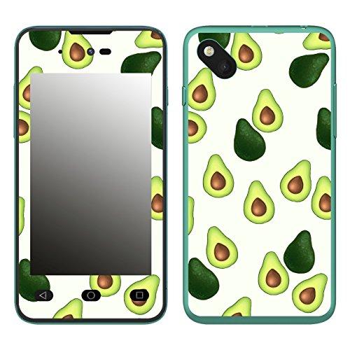 Disagu SF-106598_1121 Design Folie für Wiko Sunset 2 - Motiv Avocados Muster