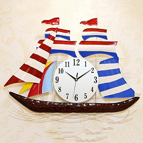 Reloj creativo de moda, reloj de pared mudo, reloj de pared de...