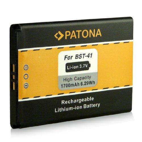 Batería BST-41 para Sony Ericsson Xperia X1   Xperia X2   Xperia X10   Xperia PLAY (R800i)   Aspen (M1i) [ Li-ion 1700mAh / 3.7V ]