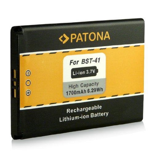 Batería BST-41 para Sony Ericsson Xperia X1 | Xperia X2 | Xperia X10 | Xperia PLAY (R800i) | Aspen (M1i) [ Li-ion 1700mAh / 3.7V ]