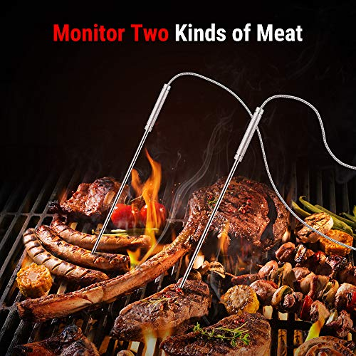 Product Image 2: ThermoPro TP28 500FT Long Range Wireless Meat Thermometer with Dual Probe for Smoker BBQ Grill Thermometer