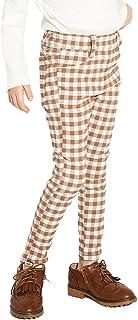[ブランシェス] プレミアム ストレッチパンツ ギンガムチェック柄/ドット柄 女の子 キッズ 子供 女児 ガールズ ロングパンツ スキニー