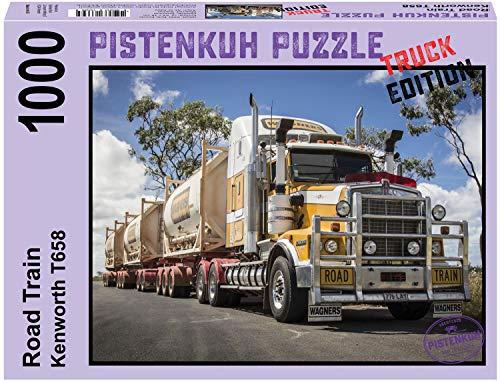PISTENKUH Puzzle - Truck Edition - Roadtrain - Australien - 1000 Teile
